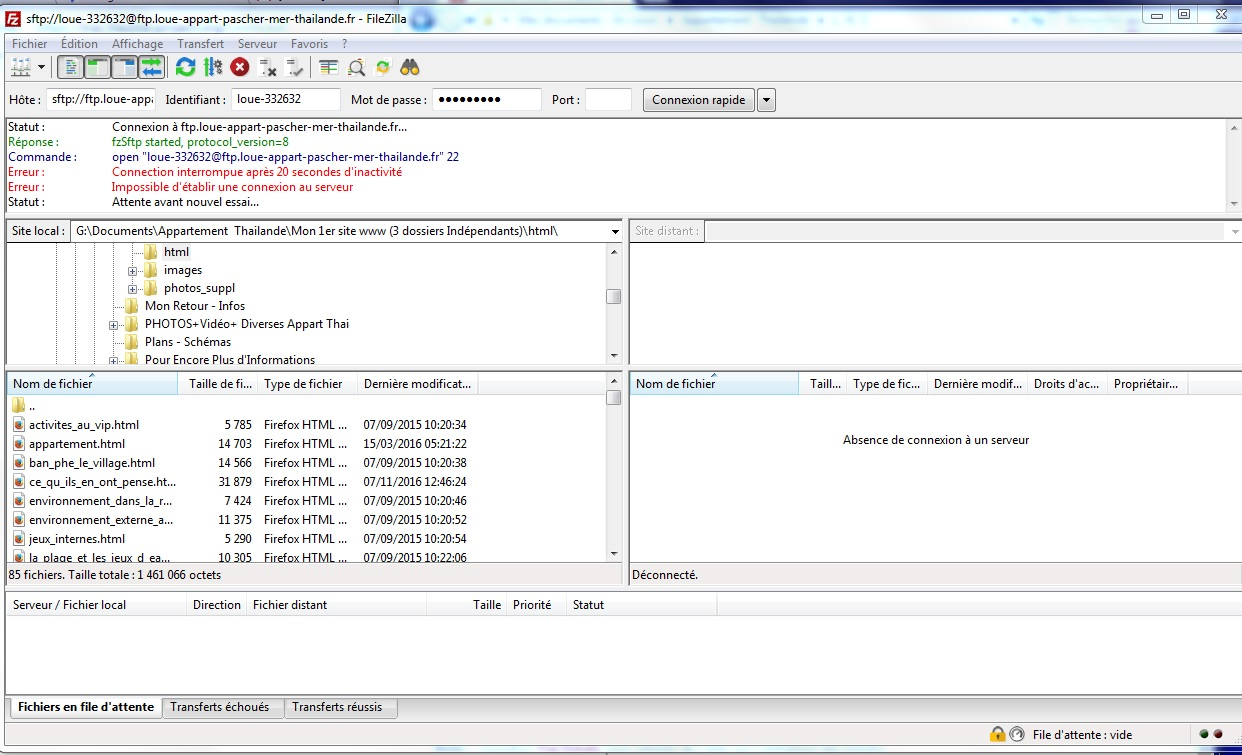 11279 (Unable to connect to SFTP host) – FileZilla