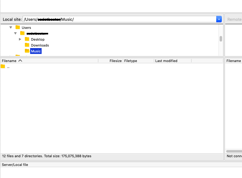 11922 (Issues loading directories in Filezilla Pro 3 42 1