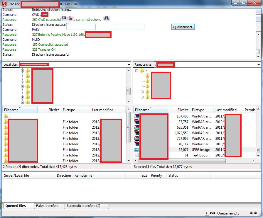 Download free FileZilla for Windows XP (32bit 64bit)